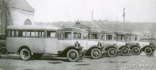 Первые автобусы ГАЗ 03-30